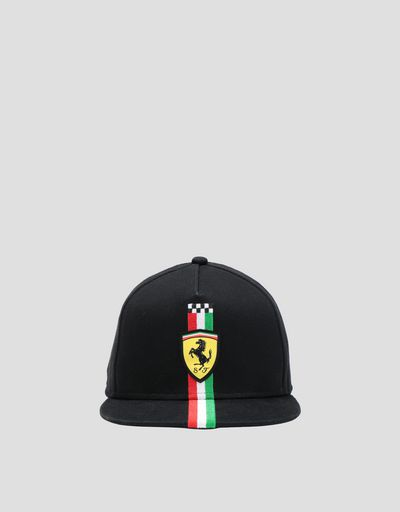 Children's cap with the Italian flag