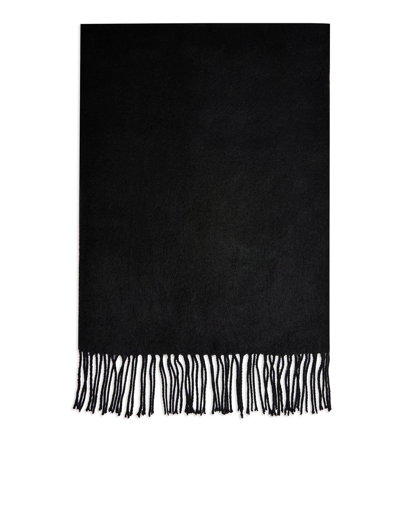 《セール開催中》TOPSHOP レディース マフラー ブラック アクリル 100% PLAIN BLACK SCARF