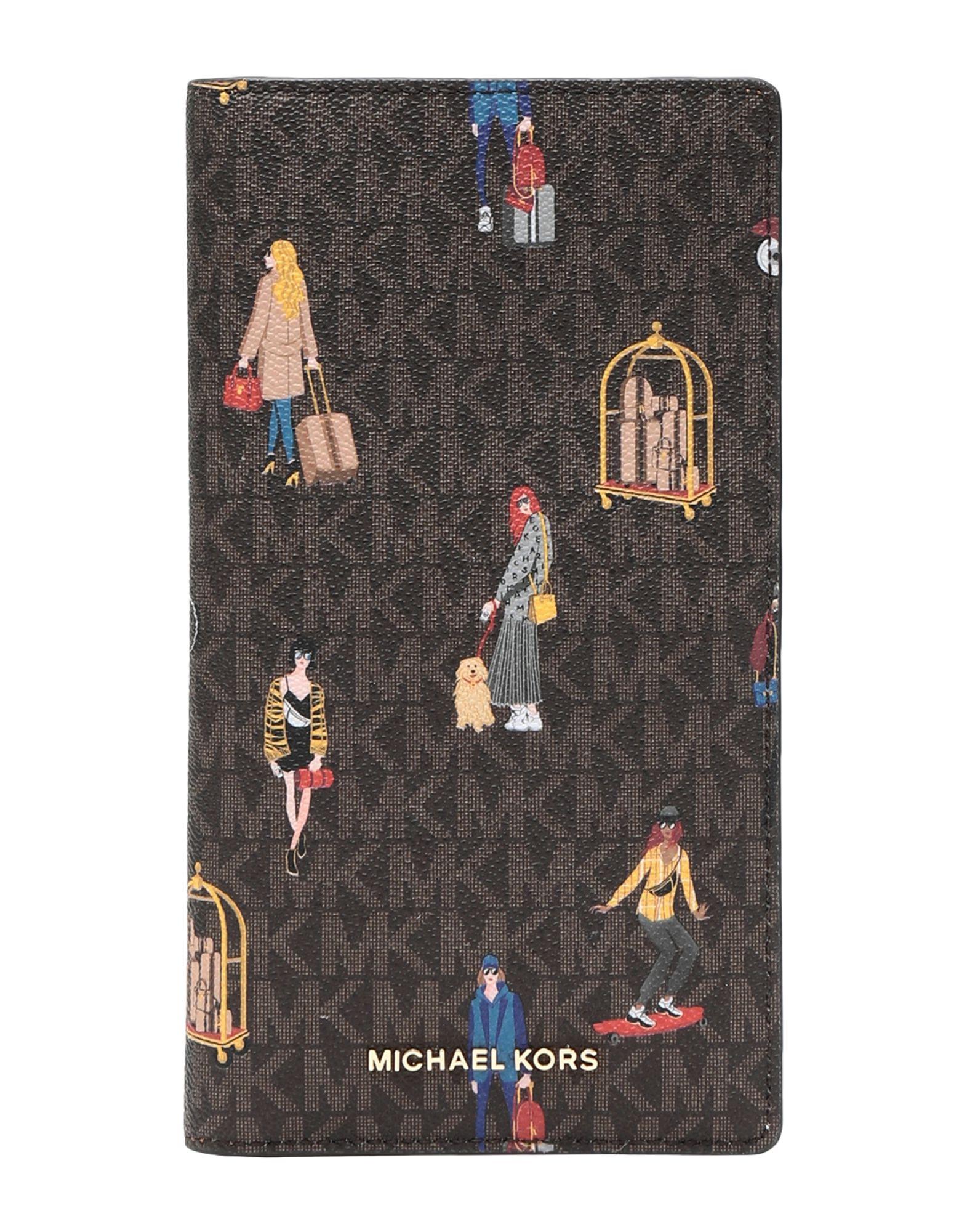 MICHAEL MICHAEL KORS Чехол для документов michael kors чехол с золотистыми точками для iphone 7 8