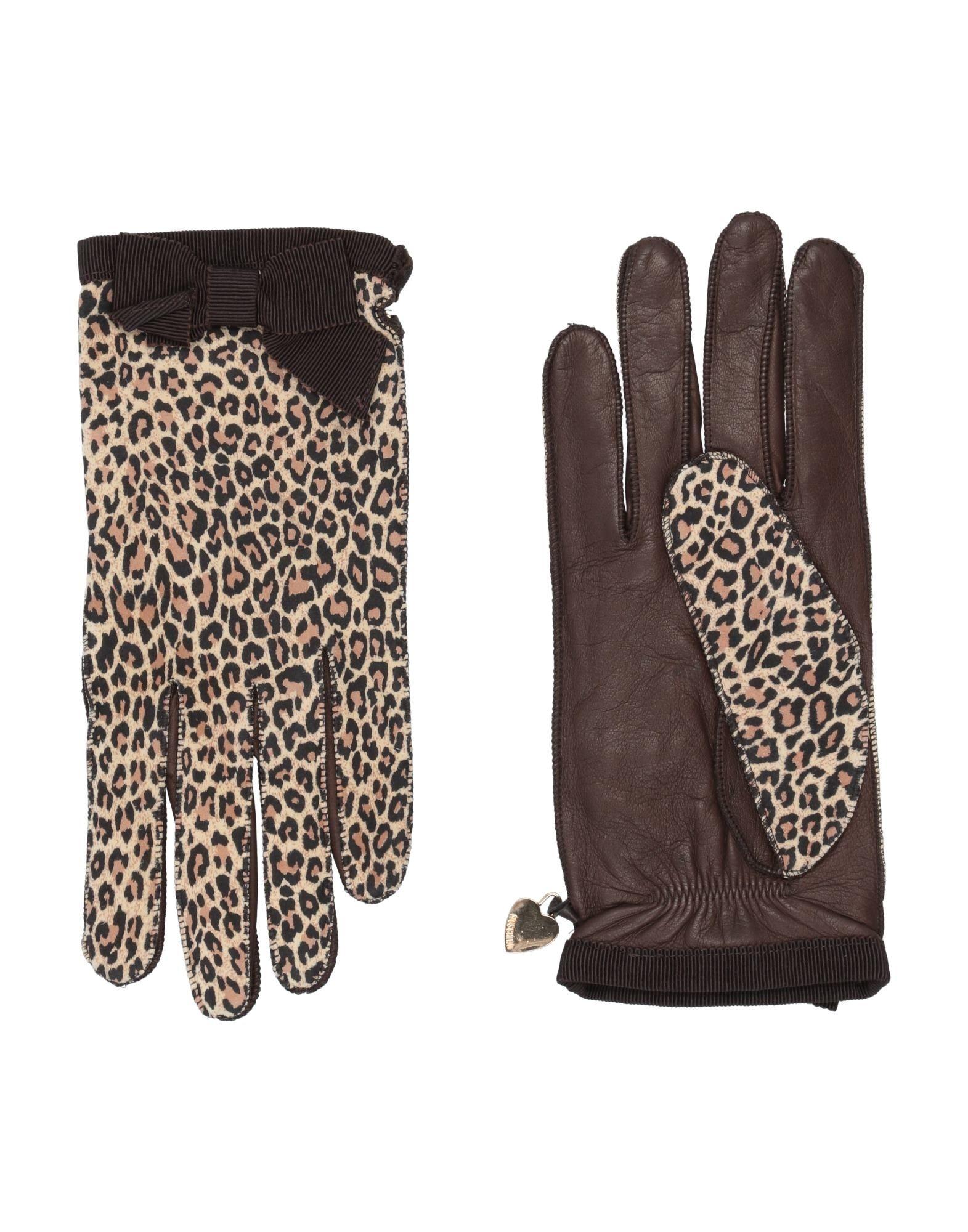 MOSCHINO Перчатки перчатки moschino