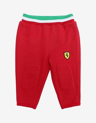 Scuderia Ferrari Online Store - Unisex infant leggings in French Terry - Joggers