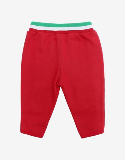 Unisex infant leggings in French Terry