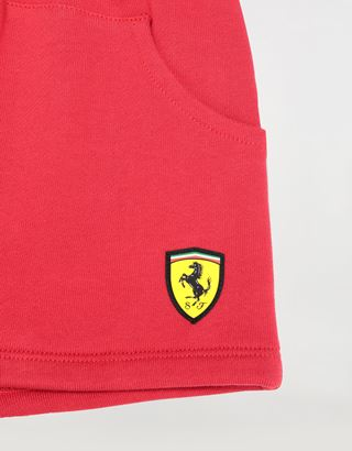 Scuderia Ferrari Online Store - French Terry unisex infant shorts - Shorts