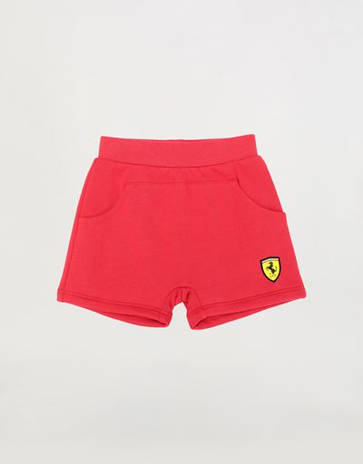 French Terry unisex infant shorts