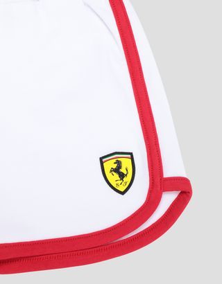 Scuderia Ferrari Online Store - Infant girls' T-shirt and shorts set - Baby & Kids Sets