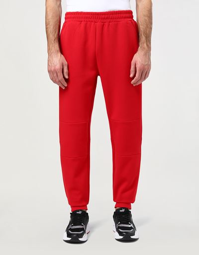 Scuderia Ferrari Online Store - Men's jogging trousers in double knit - Joggers