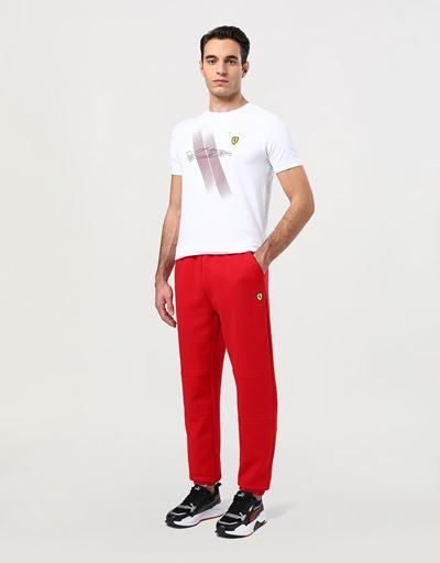 Men's jogging trousers in double knit