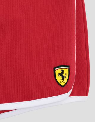 Scuderia Ferrari Online Store - Girls' skort in French Terry with drawstring - Joggers