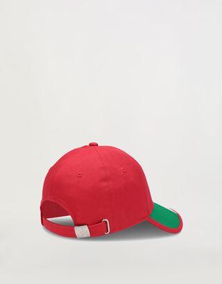 Scuderia Ferrari Online Store - Boys' cap with Italian flag - Baseball Caps