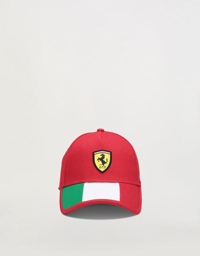Boys' cap with Italian flag