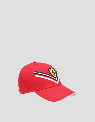 Scuderia Ferrari Online Store - Embroidered girls' hat - Baseball Caps