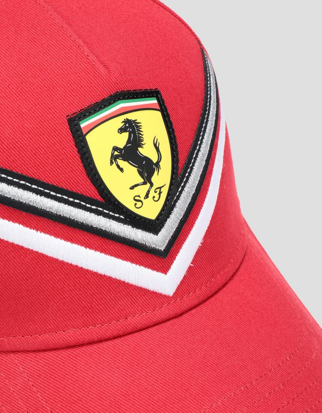 Scuderia Ferrari Online Store - Girls' cap with embroidered detail - Baseball Caps