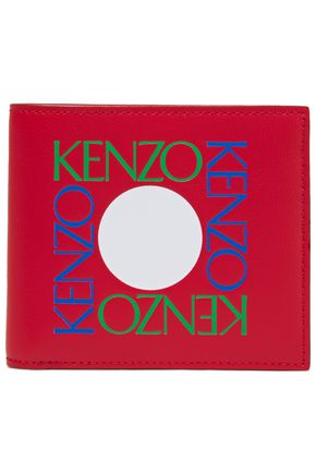 KENZO Printed leather wallet