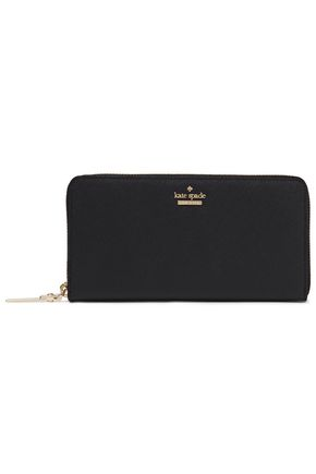 KATE SPADE New York Cameron Street Lacey textured-leather wallet