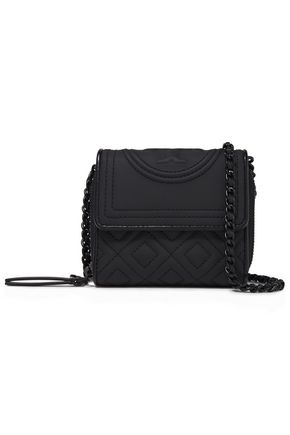 TORY BURCH Fleming quilted faux leather wallet