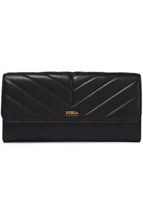 FURLA Magia quilted leather continental wallet