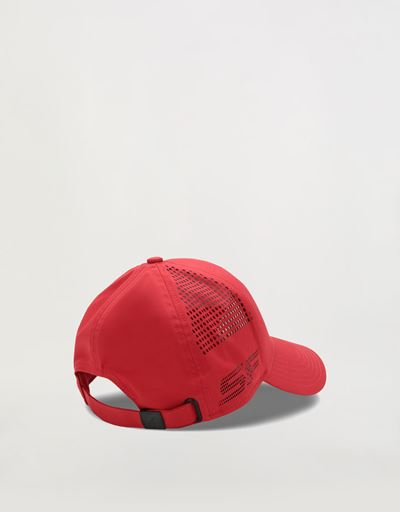 Cap with perforated detailing