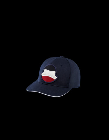 BASEBALL HAT Dark blue Category BASEBALL HATS Man