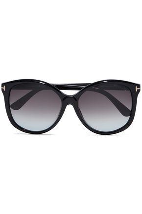 TOM FORD Alicia D-frame acetate sunglasses