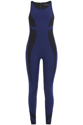 PERFECT MOMENT Two-tone stretch jumpsuit