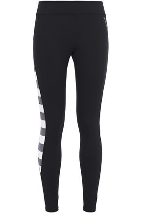 PERFECT MOMENT Tignes striped stretch leggings