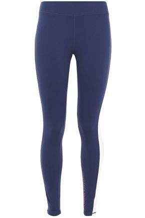 PERFECT MOMENT Stretch-jersey leggings