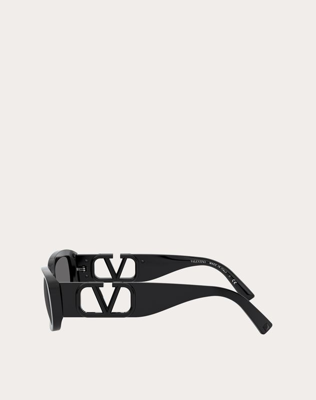 OVAL ACETATE FRAME WITH VLOGO