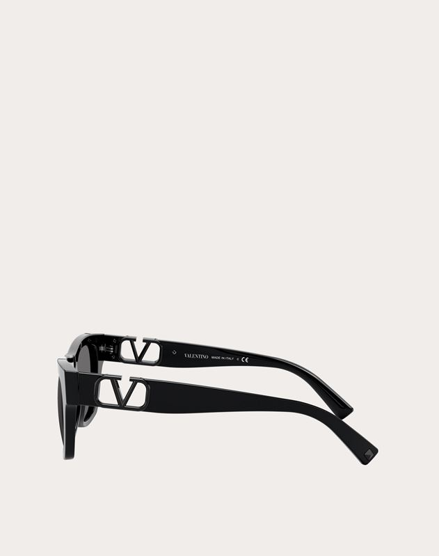 RECTANGULAR ACETATE FRAME WITH VLOGO