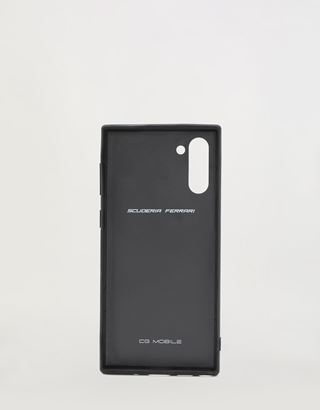 Scuderia Ferrari Online Store - Rigid black case for Samsung Galaxy Note 10 - Smartphone Accessories