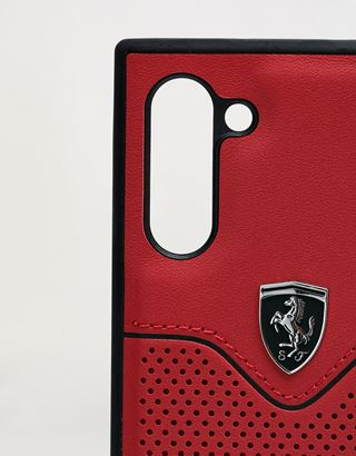 Scuderia Ferrari Online Store - Rigid red case for Samsung Galaxy Note 10 - Smartphone Accessories