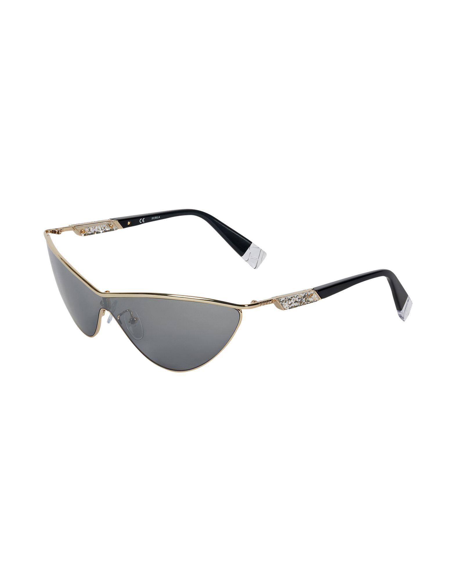 FURLA Солнечные очки звук метров inmix 2472 памяти металла очки мужской моды тенденция ретро очки кадр очки кадр черный