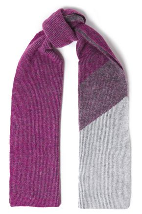 RAG & BONE Mélange ribbed-knit scarf