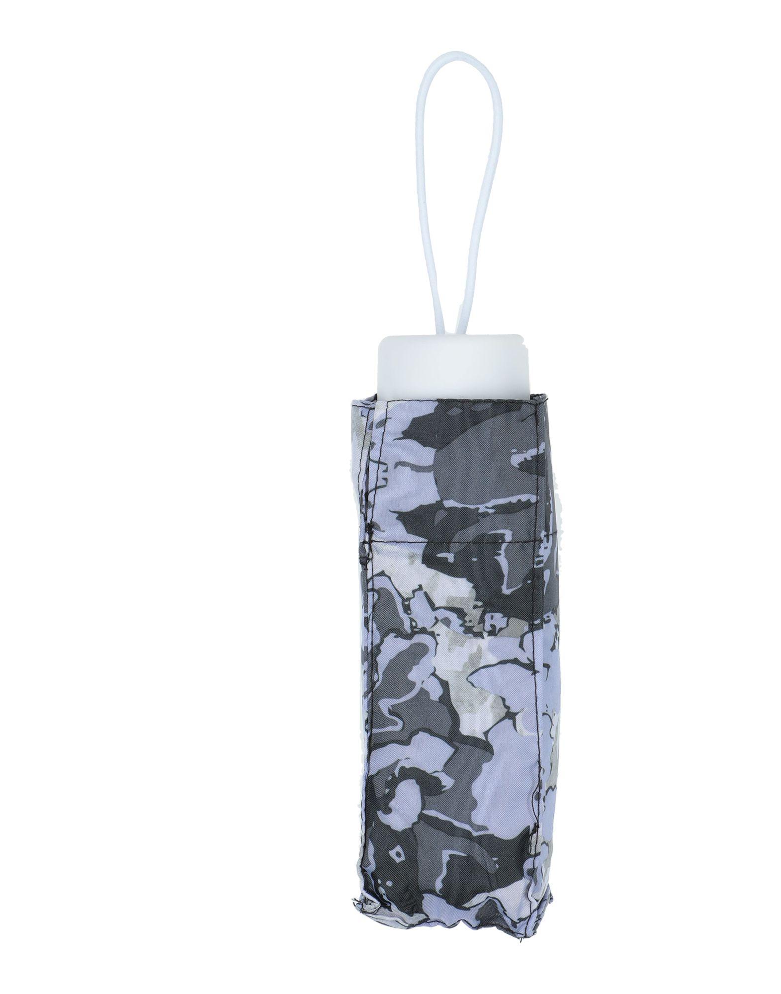 《セール開催中》ROCCOBAROCCO メンズ 傘 スチールグレー 紡績繊維