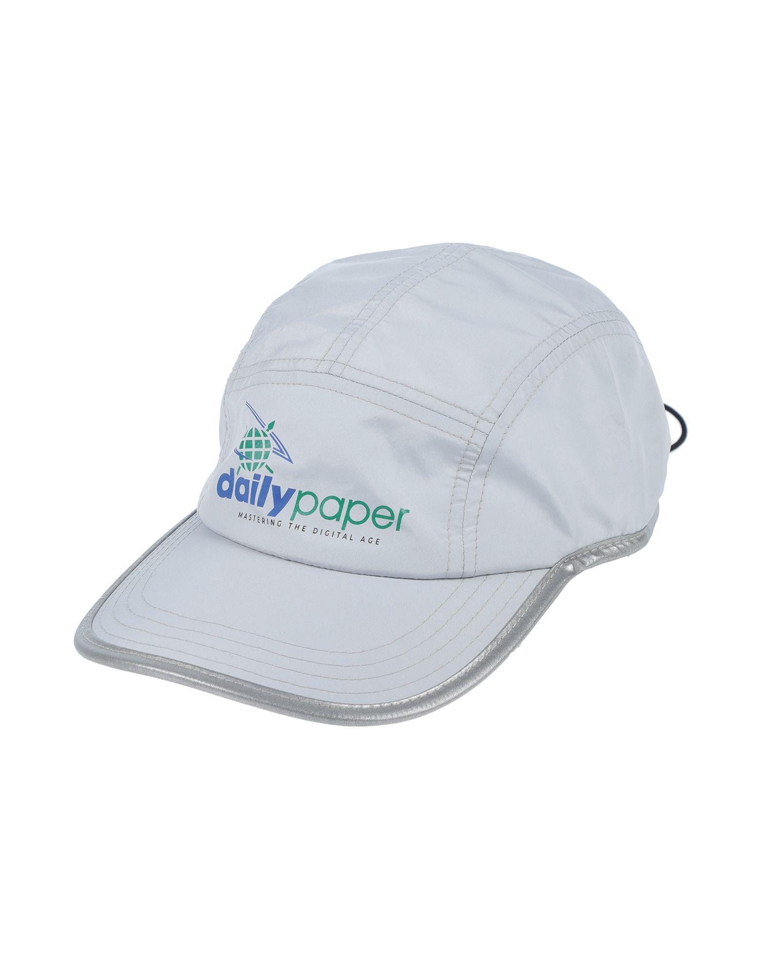 《セール開催中》DAILY PAPER メンズ 帽子 ライトグレー one size ナイロン 100%