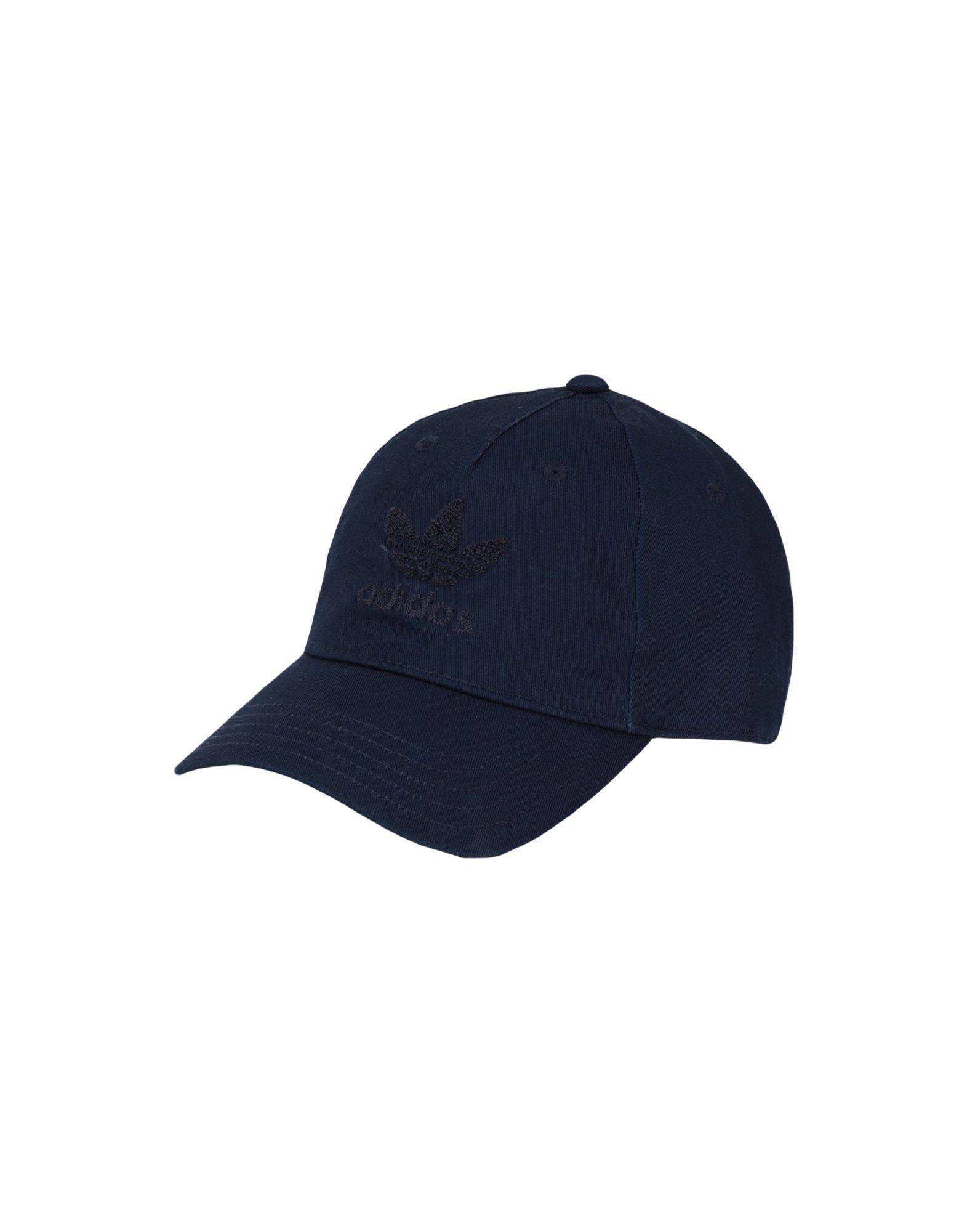《セール開催中》ADIDAS ORIGINALS Unisex 帽子 ダークブルー one size コットン 100% AC CHENILLE DAD