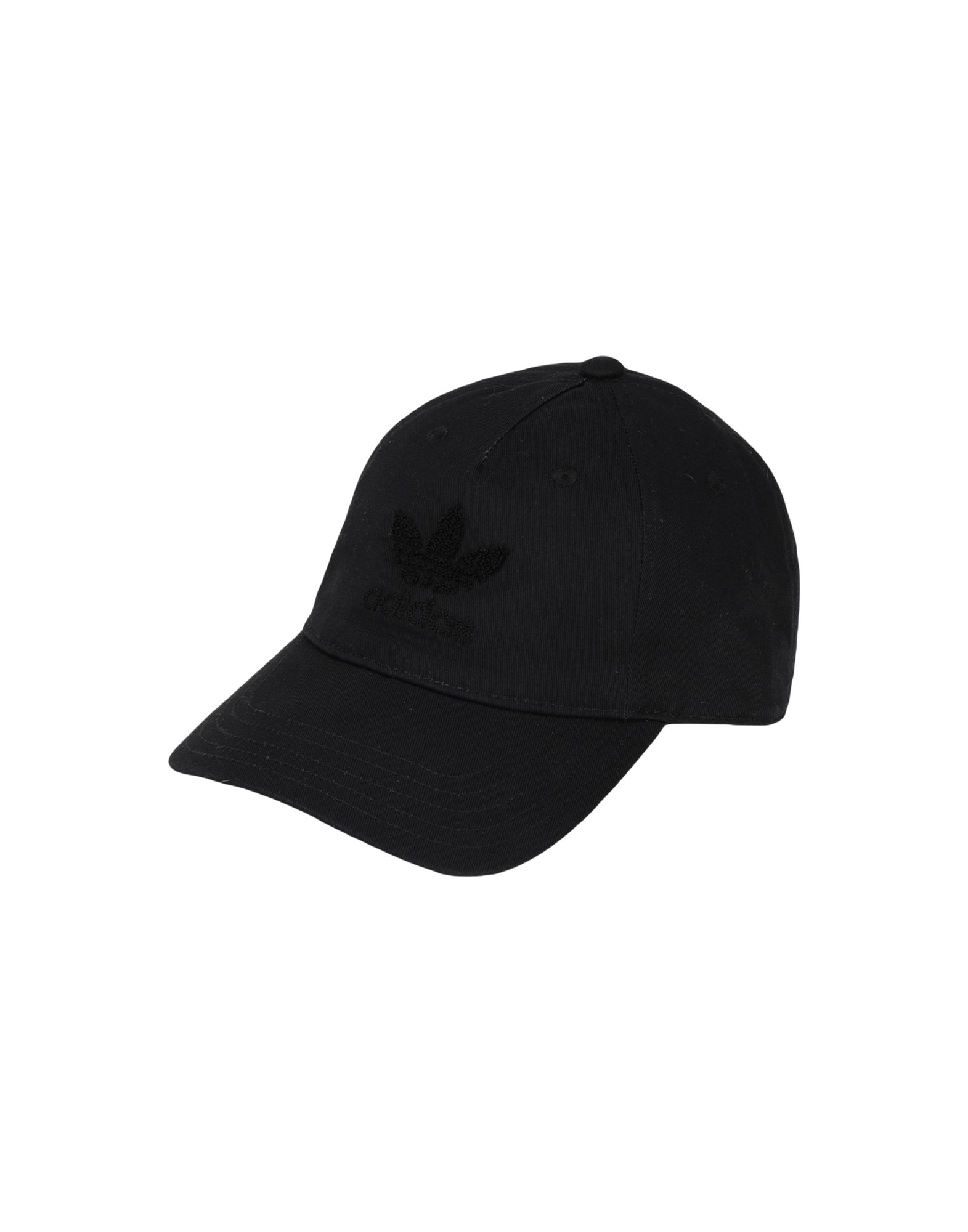 《セール開催中》ADIDAS ORIGINALS Unisex 帽子 ブラック one size コットン 100% AC-CHENILLE-DAD
