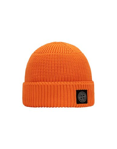 STONE ISLAND BABY N02A8 Hat Man Fluo orange EUR 68