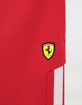 Scuderia Ferrari Online Store - Boys' mini-me Bermuda shorts in French Terry - Joggers