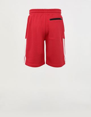 Scuderia Ferrari Online Store - Mini-me French Terry boys' Bermuda shorts - Joggers