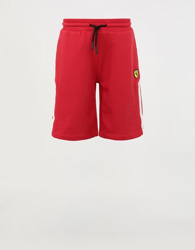 Boys' mini-me Bermuda shorts in French Terry