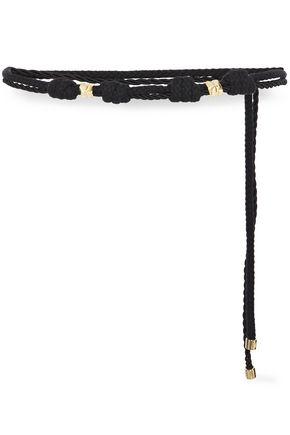 MAJE Amy knotted braided cord belt