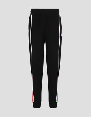 Scuderia Ferrari Online Store - Women's Milano rib joggers - Joggers