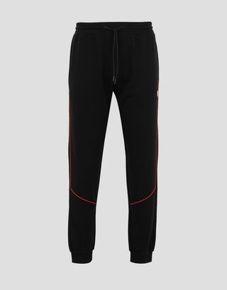 Scuderia Ferrari Online Store - Men's jogging trousers in French Terry - Joggers
