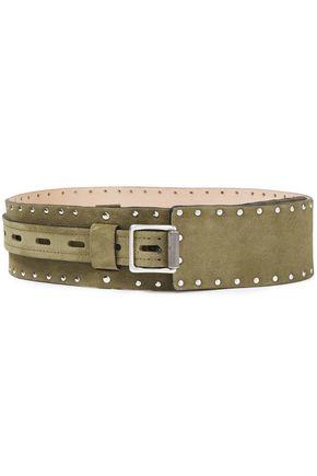 RAG & BONE Field studded suede waist belt