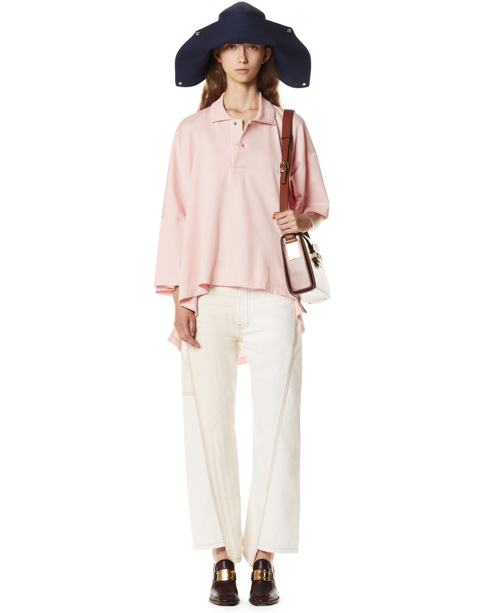 WOOL AND SILK BICORN HAT - Lanvin