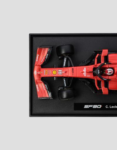 Scuderia Ferrari Online Store - Ferrari SF90 Leclerc 1:18 scale model - Car Models 01:18