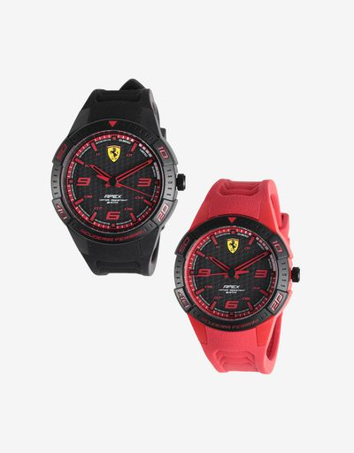 Gift set with two Apex quartz watches