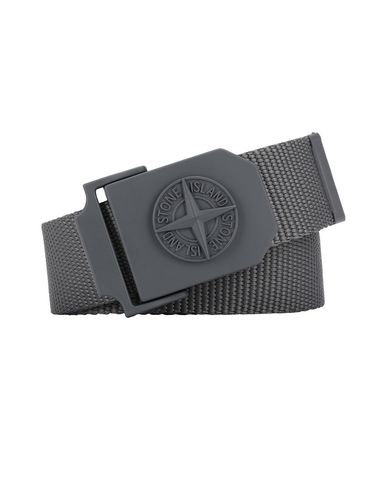 STONE ISLAND 94071 Belt Man Blue Grey EUR 105