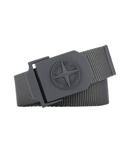 STONE ISLAND 94071 Belt Man Blue Grey