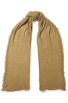 IRO Frayed wool scarf